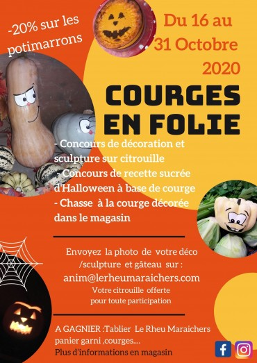 Courges en folie