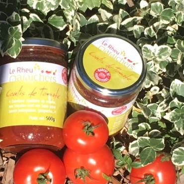 Le coulis de tomate de la ferme