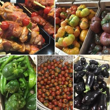 Les légumes d'été de la ferme